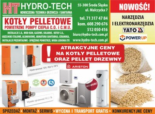 hydrotech do gazety nowa reklama