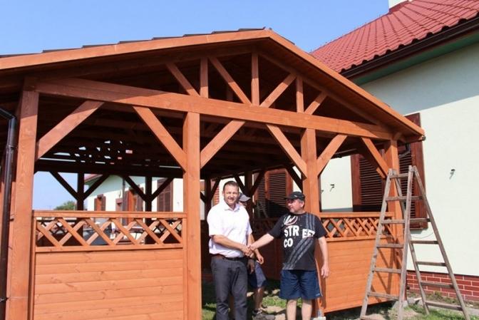 Rozbudowa Małej Architektury Na Terenie Gminy Udanin